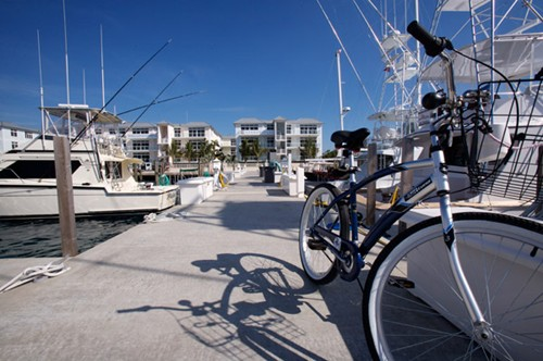 Bike on the dock